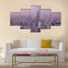 View Of A Kingdom Tower In Riyadh, Saudi Arabia, Multi Panel Canvas Wall Art