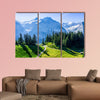 Swiss beauty, meadows under Jungfrau multi panel canvas wall art