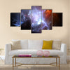 Space nebula Multi Panel Canvas Wall Art