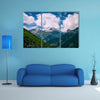 A beautiful mountain landscape Multi Panel Canvas Wall Art