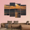 Late afternoon multi panel canvas wall art