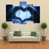 Love and moon multi panel canvas wall art