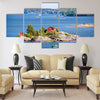 House on island in Baltic sea, Helsinki, Finland Multi panel canvas wall art