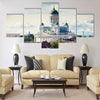 Cathedral of Saint Nicholas in Helsinki, Finland Multi panel canvas wall art