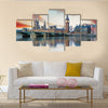London, Big Ben and houses of parliament, UK multi panel canvas wall art
