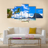 Beautiful tropical beach, El Nido Palawan multi panel canvas wall art