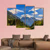 Mount Robson, the highest point in the Canadian Rockies, multi panel canvas wall art