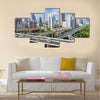 shanghai highway overpass multi panel canvas wall art