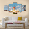 The cathedral of Granada, with its red tile roof is the icon of Granada, Nicaragua Multi panel canvas wall art