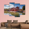 Uji, Kyoto, Japan - famous Byodo-in Buddhist temple multi panel canvas wall art