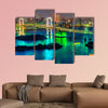 Tokyo skyline with Tokyo tower and Rainbow Bridge multi panel canvas wall art