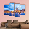 St. Peter Basilica in the Vatican of Rome, Italy multi panel canvas wall art