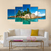 Beautiful st.pierre island at Seychelles Multi panel canvas wall art