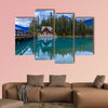 Emerald lake Multi panel canvas wall art