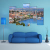 Scene Of Split Beauty With Shipping Bodies, Multi Panel Canvas Wall Art