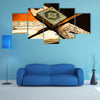 Quran, the Holy Book Of Muslims Multi Panel Canvas Wall Art