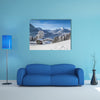Beautiful mountain landscape in the Bavarian Alps multi panel canvas wall art