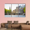 Landscape of Amsterdam multi panel canvas wall art