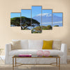 Snow on top of Mount Kilimanjaro in Amboseli Multi Panel Canvas Wall Art