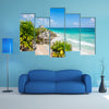 The Pristine Paradise near Cancun, Quintana Roo adventure, traveling Mexico Multi Panel canvas wall art
