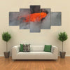 Lava flow enters the sea in Hawaii multi panel canvas wall art