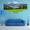Panorama of Zell am See, Salzburger Land, Salzburg, Austria multi panel canvas wall art