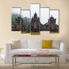 Beautiful view of Hindu temple Pura Ulun Danu Buyan at Lake Buyan multi panel canvas wall art