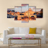 Vatican city with St. Peter Multi panel canvas wall art
