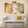 Chinese food, thin egg noodles Multi Panel Canvas Wall Art