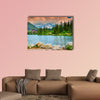 Stunning mountain lake in the High Tatras,Strbske Pleso, Slovakia wall art
