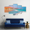 Dead Sea salt shore Ein Bokek Israel Multi panel canvas wall art