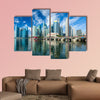 Singapore skyscrapers multi panel canvas wall art