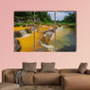 Surroundings and landmarks of Yang Bay waterfall in Vietnam wall art