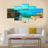 Beautiful blue lagoon in Comino island, Gozo, Malta Multi Panel Canvas Wall Art