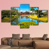 Byodo-in Temple, Kyoto, Japan multi panel canvas wall art
