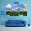 A Beautiful Mountain Valley In Pakistan, Multi Panel Canvas Wall Art
