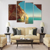 Beautiful sea landscapes on Zakynthos Island in Greece Multi Panel Canvas Wall Art