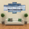 A Helicopter Rescue In A Windy Weather Multi Panel Canvas Wall Art