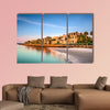 The historic homes on the Battery in Charleston multi panel canvas wall art