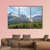 Canada Icefield Park glacier landscape panorama Multi panel canvas wall art