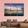 Beautiful landscape view of Palm Springs and Chino Canyon wall art