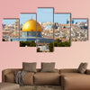 The Dome of the Rock on the temple mount in Jerusalem Israel wall art