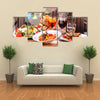 Italy food Multi panel canvas wall art