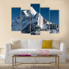 Beautiful view of mount Ama Dablam way to Everest base camp Multi panel canvas wall art