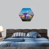 Gardens By The Bay hexagonal canvas wall art