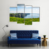 Cliff of Moher Ireland with blue sky Multi Panel Canvas Wall Art