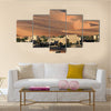 A Biggest Desert In Abu Dhabi Depicting The Area Covered By The Coninent, Arabia, Multi Panel Canvas Wall Art