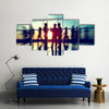 Seminar Conference Partnership Collaboration Concept Multi panel canvas wall art