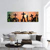 Christianity Religion Faith Concept panoramic canvas wall art