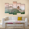 Beautiful Great Wall of China at the Jinshanling section multi panel canvas wall art